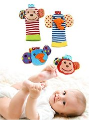 Baby Wrist and Foot Rattles